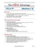 Fujitsu Advantages