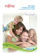 Fujitsi Mini Split Heating & Cooling